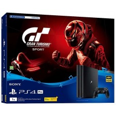 PlayStation 4 Pro Bundle (1 Tb, Gran Turismo Sport, черный), , Консоли